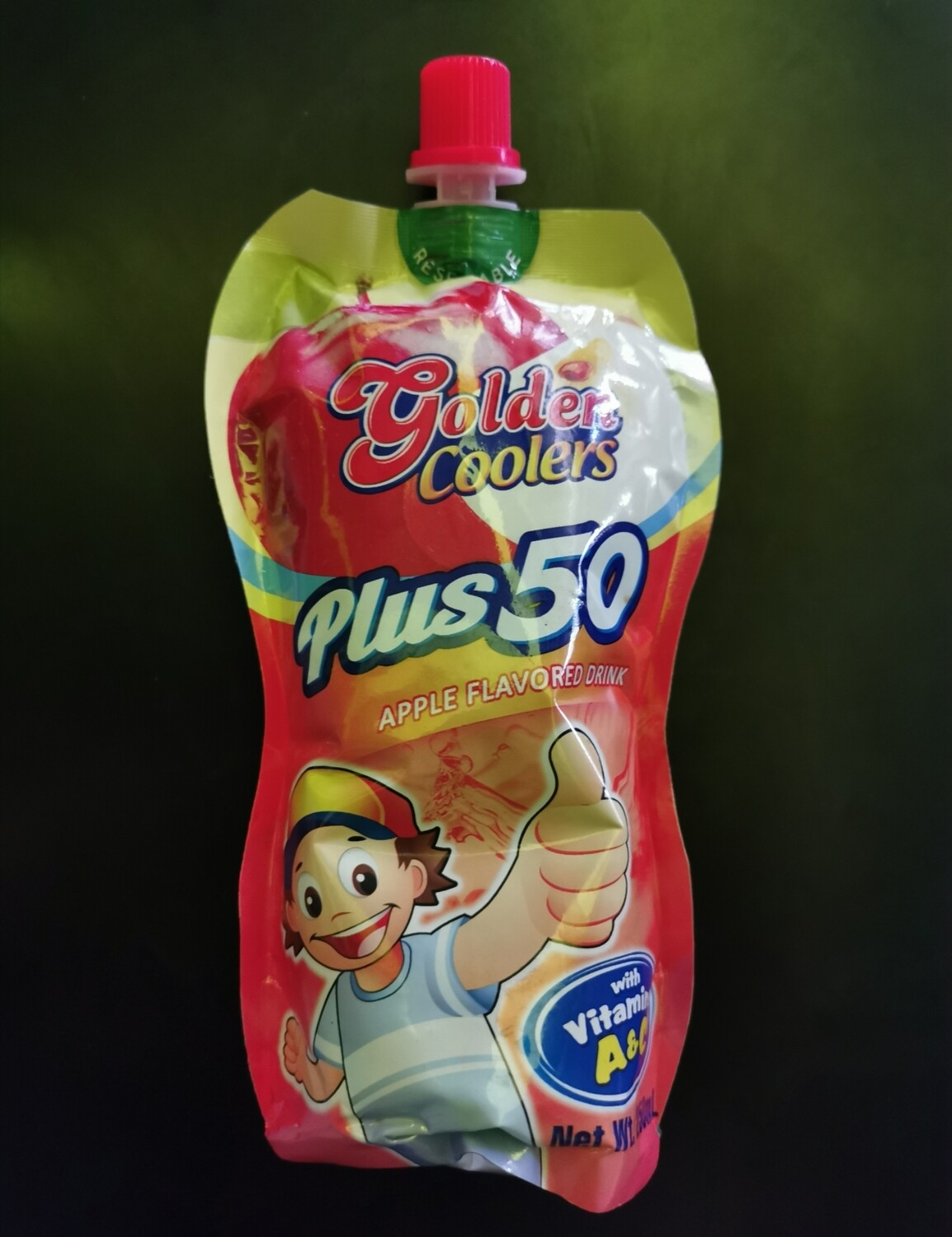 Golden Coolers Flavored Drink - Apple (250ml)