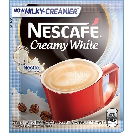Nescafe Creamy White (29g) (10packs)