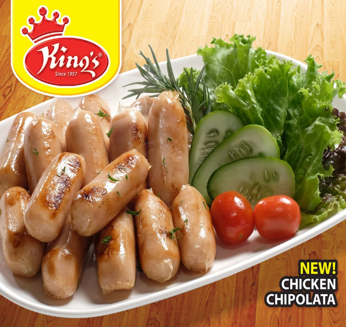 King's Chicken Sausage (200g | 8pcs)
