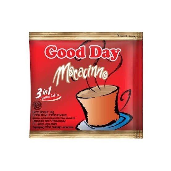Good Day Mochaccino (10packs | 20g)