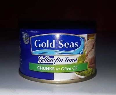 Gold Seas Tuna Chunks in Olive Oil (90g)