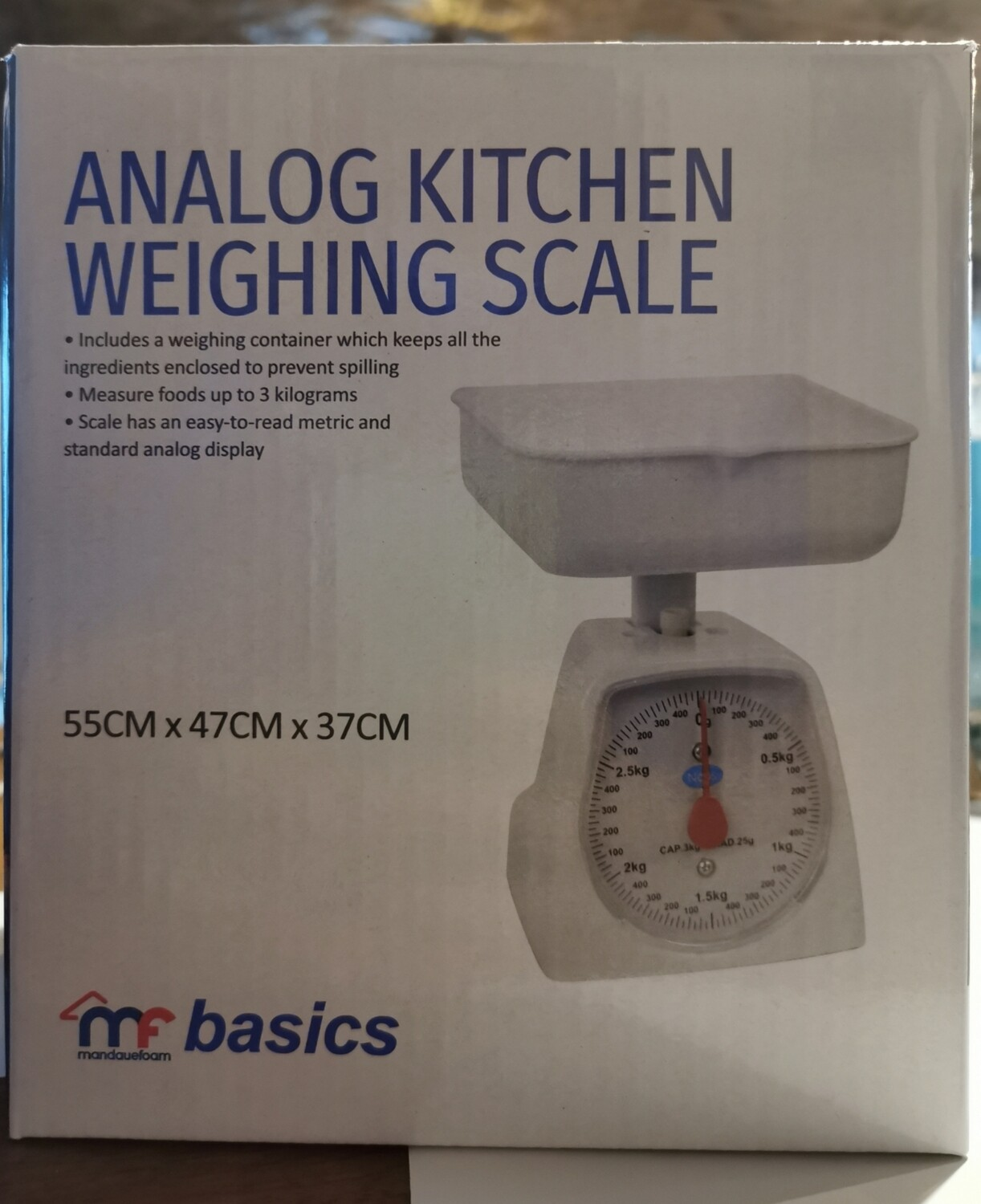 Analog Kitchen Weighing Scale