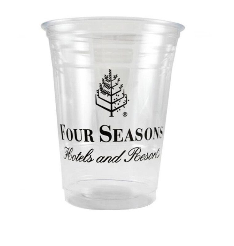 Plastic cup printing services (per cup)