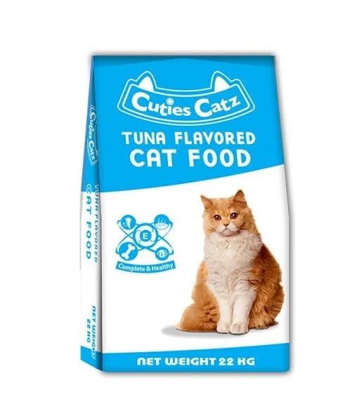 Cuties cat food--Tuna flavored (1/2kg)