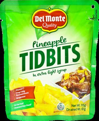 Pineapple Tidbits (del Monte) (115g)