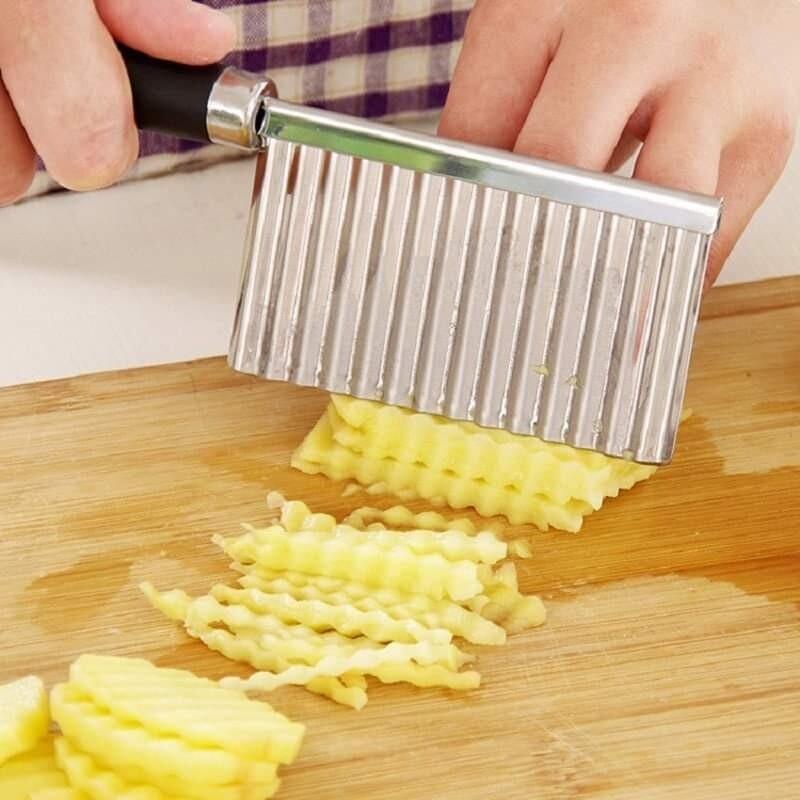 Potato Wavy Edged Cutter Knife