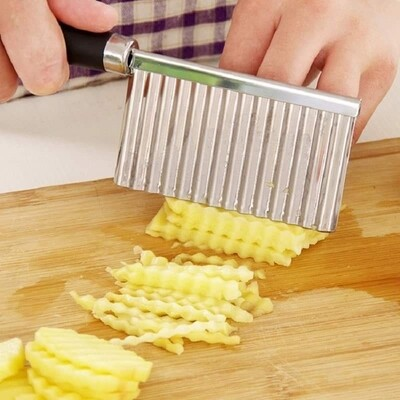 Potato Wavy Edged Cutter Knife