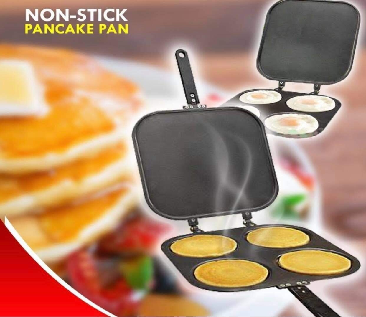 Pancake Pan (Four-hole Double-sided, Non-stick)