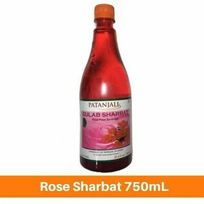 Patanjali Rose Sharbat750mL
