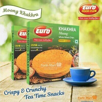 Moong Khakhra 180g (Buy 5 Get 1 Free)