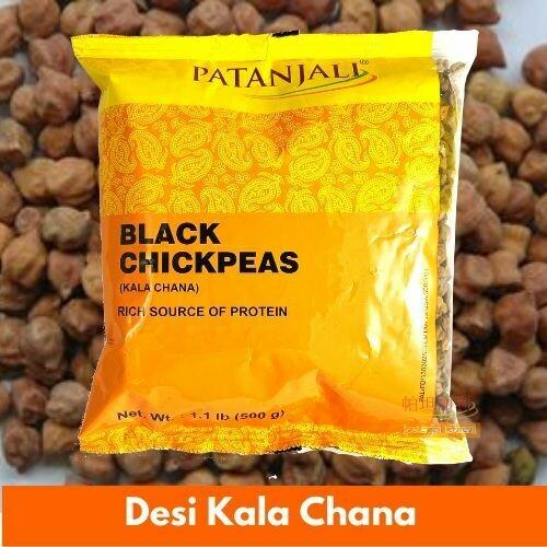 Patanjali Desi Kala Chana (Indian Chickpeas) 500g