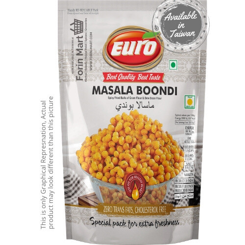 Euro Masala Boondi 150g