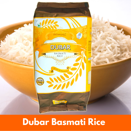 Patanjali Dubar Basmati Rice (Long) 20KG
