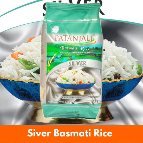 Patanjali Silver Basmati Rice 1Kg