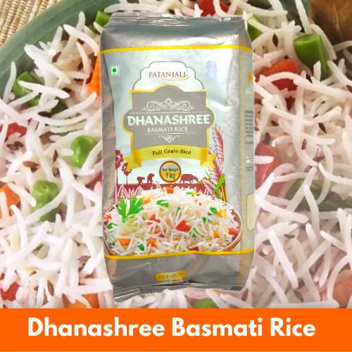 Patanjali Dhanashree Basmati Rice (Extra Long) 1Kg