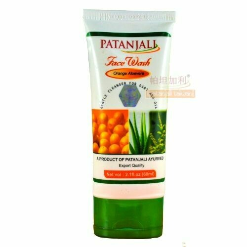 Patanjali Orange Aloevera Face wash 60g