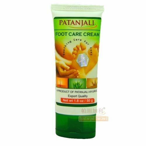 Patanjali Foot Care Cream 50g