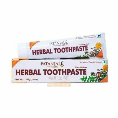 Patanajli Herbal Toothpaste (Flouride Free)