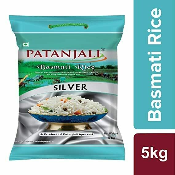 Patanjali Silver Basmati Rice 5kg
