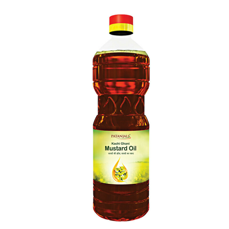 Patanjali Fortified Mustard Oil (EDIBLE) 12L