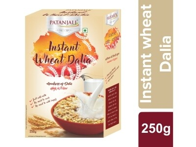 Patanjali Instant Wheat Dalia 250g