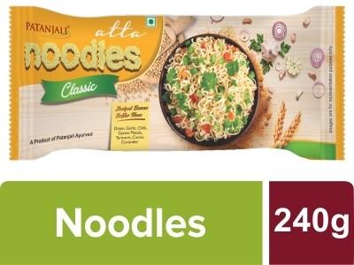 Patanajli Classic Atta Noodles 60gX4 (240g)