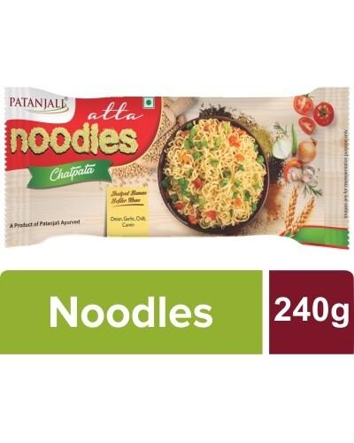 Patanajli Chatpata Atta Noodles 60gX4 (240g)