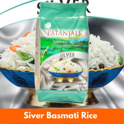 Patanjali Silver Basmati Rice 20KG