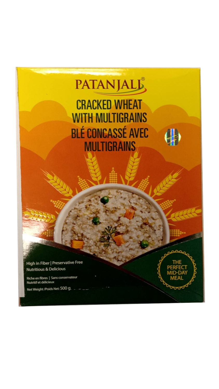 Patanjali Multigrain Wheat Dalia 500g