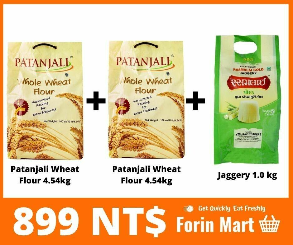 Combo (Wheat Flour + Jaggery)