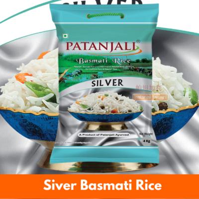 Patanjali Silver Basmati Rice 4kg