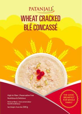Patanjali Wheat Dalia(Plain) 500g 
