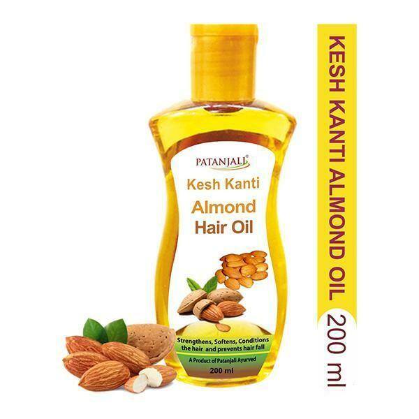 Patanjali Almond Hair Oil 200mL