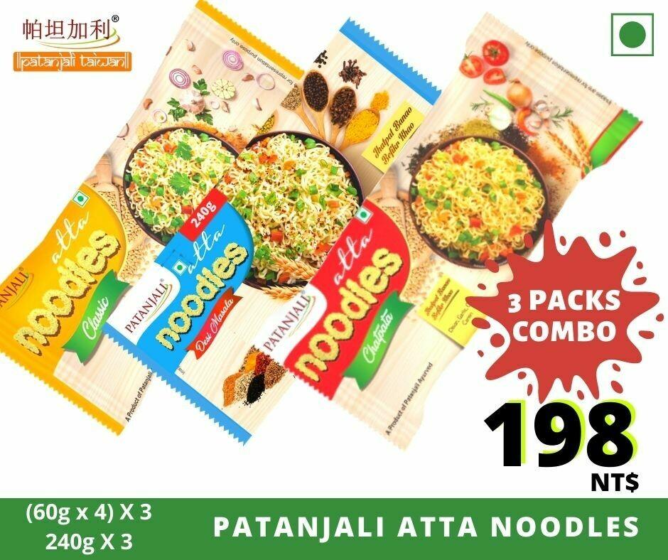 COMBO Patanajli Atta Noodles 240g X 3