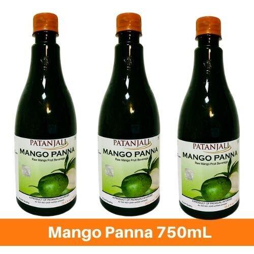 Patanjali Mango Panna Sharbat750mL X 3
