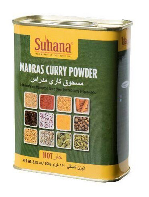 Madras Curry Powder (HOT) 250gm