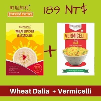COMBO Wheat Dalia + Vermicelli 500g 