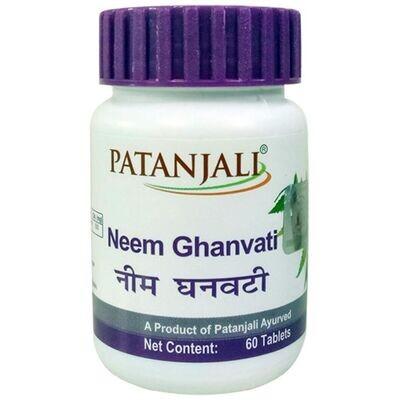 Patanjali Neem Ghanwati 40g