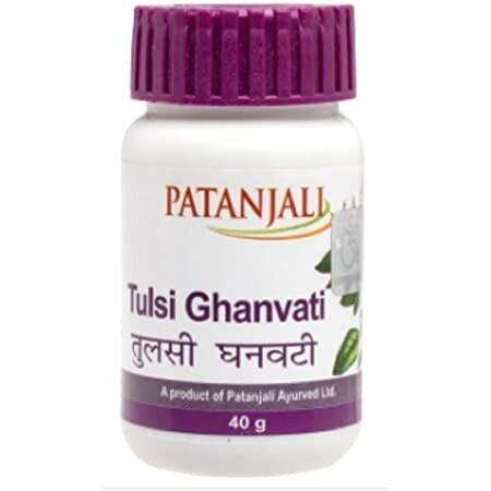 Patanjali Tulsi Ghanwati 40g