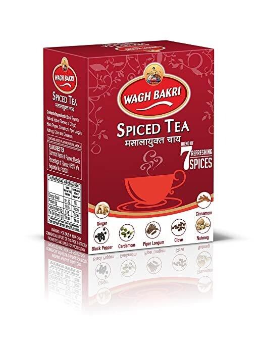 Waghbakri Masala (Spiced) Tea 250g