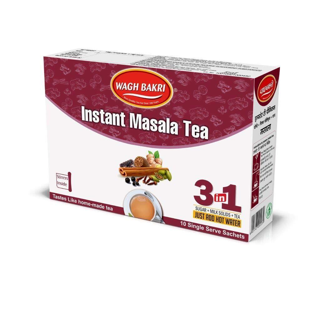 Waghbakri Instant Masala Tea 14g X 10