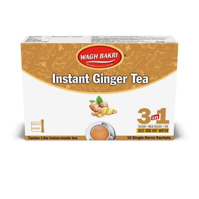 Waghbakri Instant Ginger Tea 14g X 10