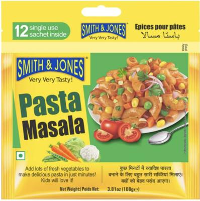 Pasta Masala (Smith&Jones) 108g (12*9g)