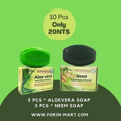 Combo-199 NEEM & ALOEVERA SOAP