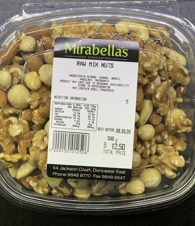 Raw Mix Nuts (500g)
