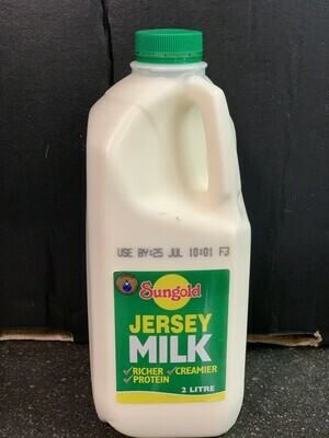Jersey Milk (2 litres)