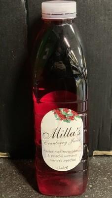 Cranberry juice (1 litre)