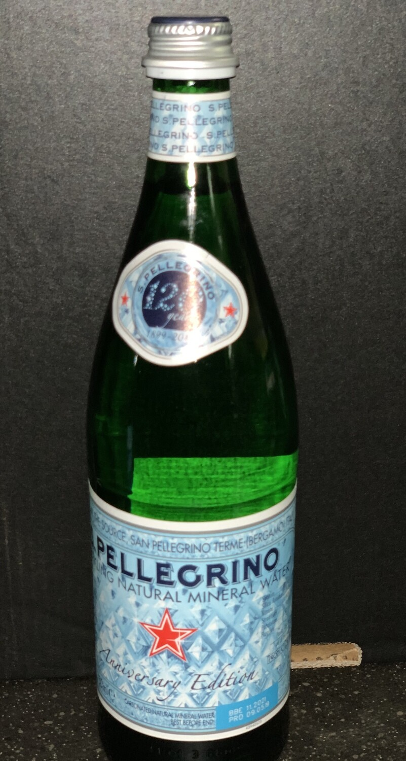 Sparkling Natural Mineral Water (750 mL)