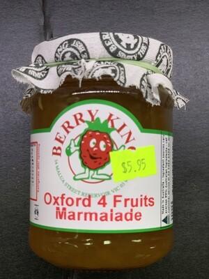 Oxford Four Fruits Marmalade (300g)