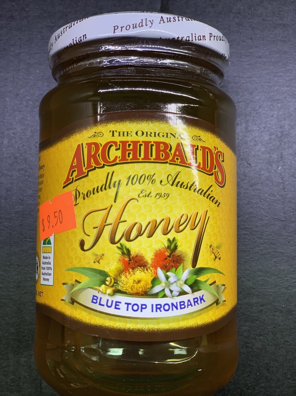 Blue Top Ironbark Honey (500g)